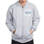 BDS Dual Logo Zip Hoodie