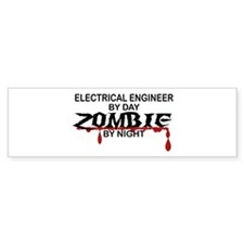 Electrical Engineer Zombie Bumper Sticker