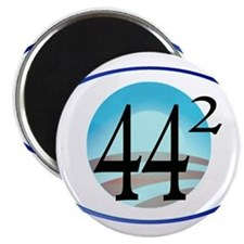 44 squared. Obama is President. Magnet