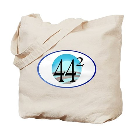 44 squared. Obama is President. Tote Bag