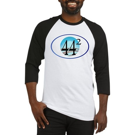 44 squared. Obama is President. Baseball Jersey