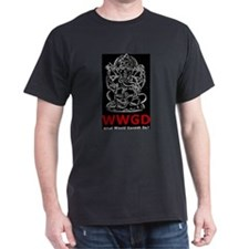 What Would Ganesh Do? Black T-Shirt