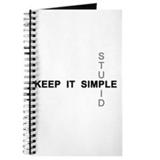 Keep it simple. Stupid. Journal