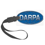 DARPA logo Large Luggage Tag