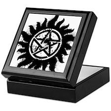 Anti-Possession Symbol Black (Splatter) Keepsake B