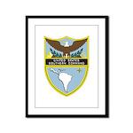USSOUTHCOM emblem Framed Panel Print