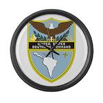 USSOUTHCOM emblem Large Wall Clock