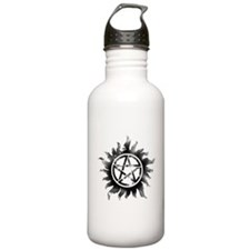 Anti-Possession Symbol Black (Glow) Water Bottle