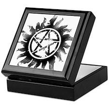 Anti-Possession Symbol Black (Glow) Keepsake Box