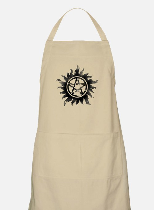 Anti-Possession Symbol Black (Glow) Apron