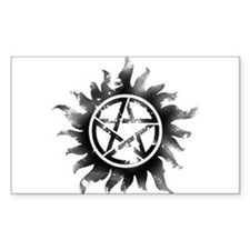 Anti-Possession Symbol Black (Glow) Decal