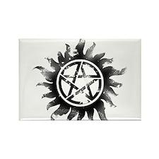 Anti-Possession Symbol Black (Glow) Rectangle Magn