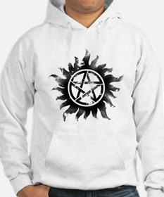 Anti-Possession Symbol Black (Glow) Hoodie