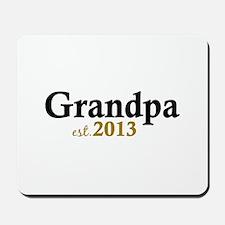 New Grandpa Est 2013 Mousepad