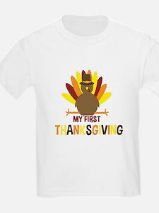 My First Thanksgiving Turkey T-Shirt
