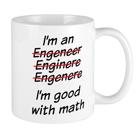 I am good with math Mug