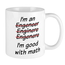 I am good with math Small Mug
