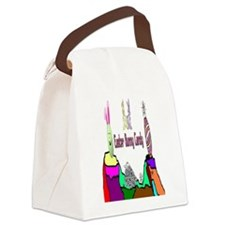 Easter Bunny Candy Canvas Lunch Bag