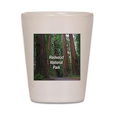 Redwood National Park Shot Glass