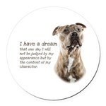Dream Round Car Magnet