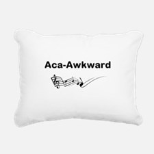Aca-Awkward Quote Rectangular Canvas Pillow
