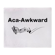 Aca-Awkward Quote Throw Blanket