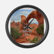 Arches National Park Large Wall Clock