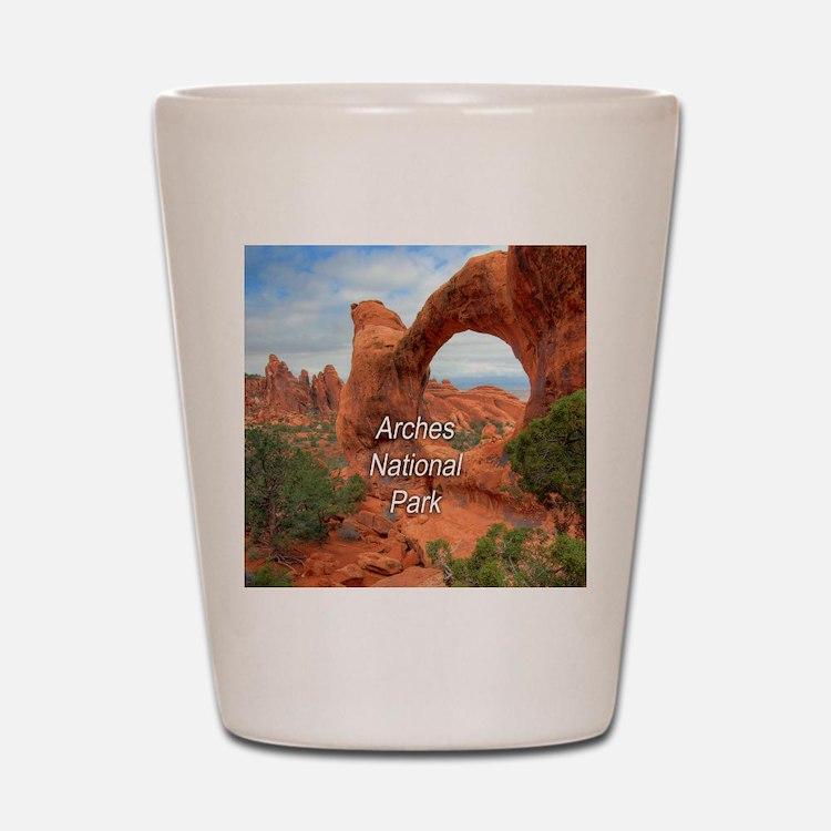 Arches National Park Shot Glass