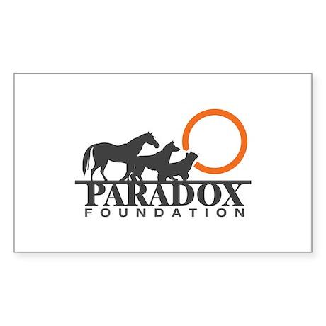 Paradox Foundation Sticker (Rectangle)