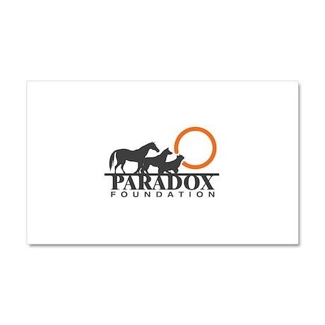 Paradox Foundation Car Magnet 20 x 12