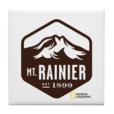 Mount Rainier Tile Coaster
