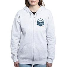 Mount Rainier Women's Zip Hoodie
