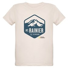 Mount Rainier Organic Kids T-Shirt