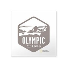 "Olympic Square Sticker 3"" x 3"""