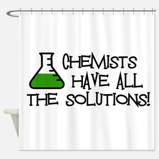 Chemists Shower Curtain