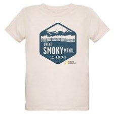 Great Smoky Mountains Organic Kids T-Shirt