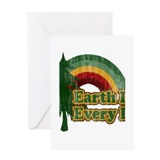 earth day every day Greeting Cards