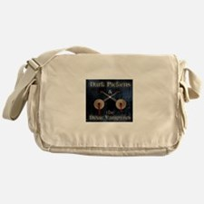 Dark Messenger Bag