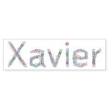 Xavier Paper Clips Bumper Bumper Sticker
