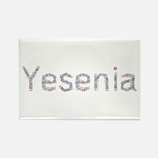 Yesenia Paper Clips Rectangle Magnet