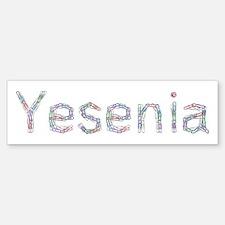 Yesenia Paper Clips Bumper Bumper Bumper Sticker