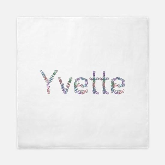 Yvette Paper Clips Queen Duvet