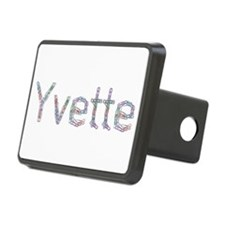 Yvette Paper Clips Hitch Cover