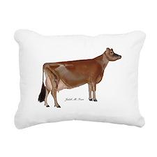 Jersey Cow Rectangular Canvas Pillow