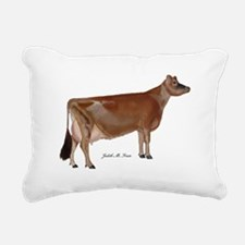 Jersey Cow Rectangular Canvas Pillow
