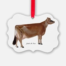 Jersey Cow Ornament