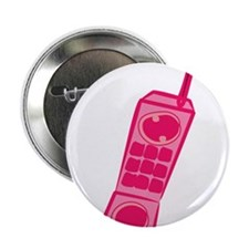 "Pink Phone 2.25"" Button"