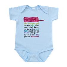Princess Phone Infant Bodysuit