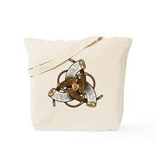 Odin's Triple Horns Tote Bag