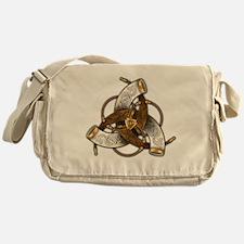 Odin's Triple Horns Messenger Bag